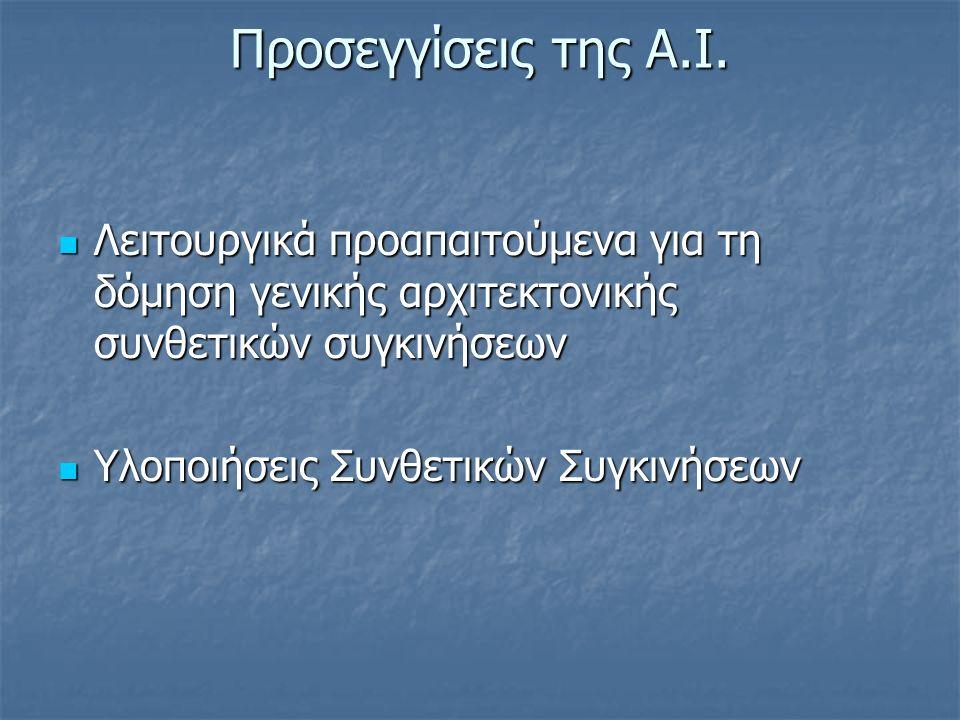 Προσεγγίσεις της A.I.