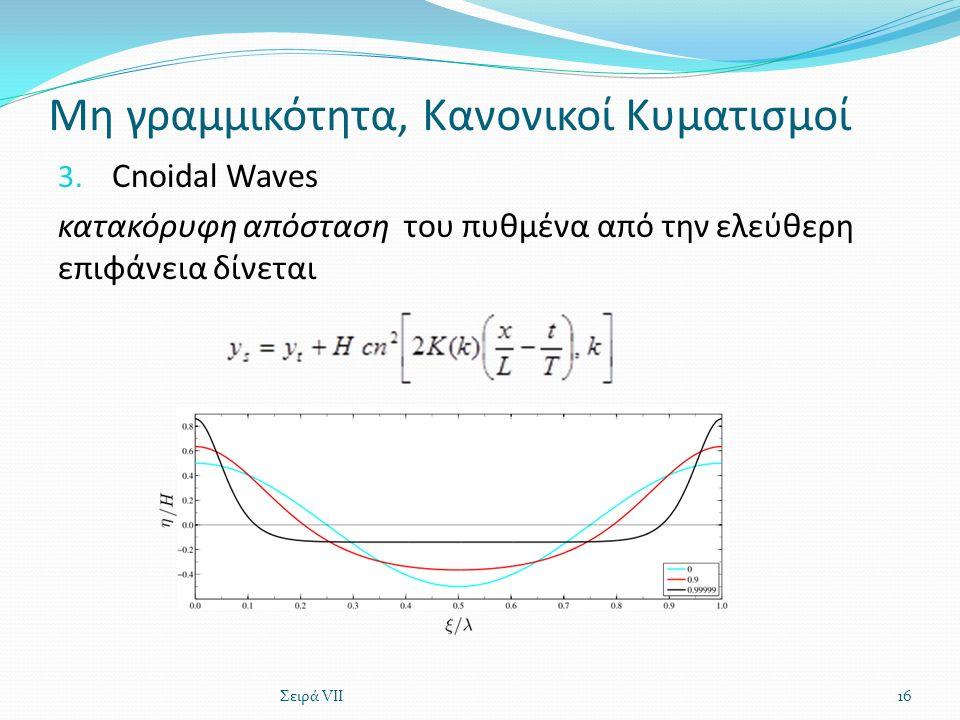 Μη γραμμικότητα, Κανονικοί Κυματισμοί 3.