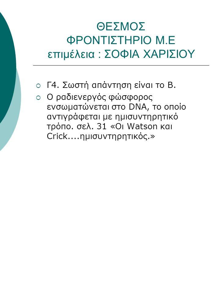 ΘΕΣΜΟΣ ΦΡΟΝΤΙΣΤΗΡΙΟ Μ.Ε επιμέλεια : ΣΟΦΙΑ ΧΑΡΙΣΙΟΥ  Γ4.