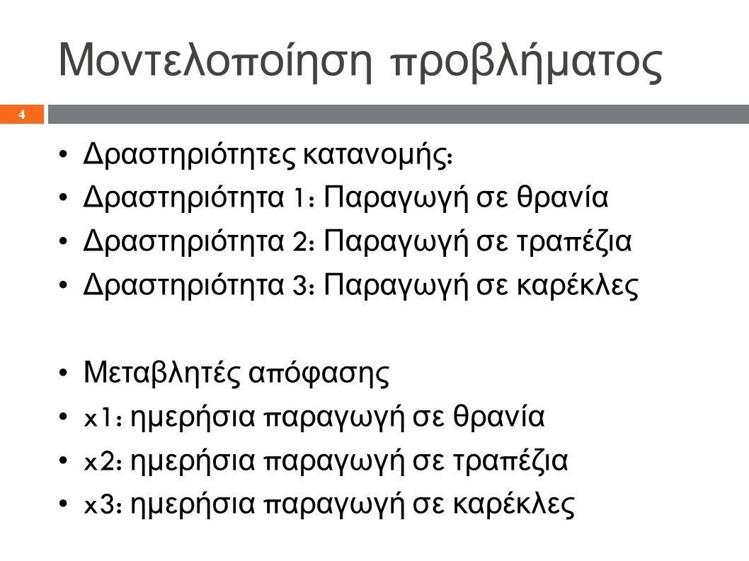 Αναφορά Απάντησης 15