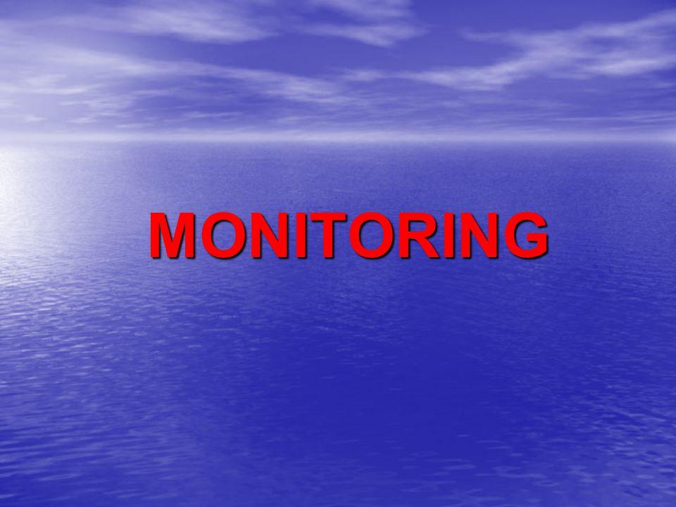ΒΑΣΙΚΟ MONITORING Η.Κ.Γ., καρδιακή συχνότητα, αρτηριακή πίεση, παλμική οξυμετρία Eυκολία εφαρμογής, χαμηλό κόστος, ανίχνευση αιμοδυναμικής αστάθειας, εκτίμηση οξυγόνωσης (υποξαιμία, υποαερισμός) Παράμετροι εκτός φυσιολογικών τιμών: υποδηλώνουν παθολογικές καταστάσεις Μη ειδικοί δείκτες μιας συγκεκριμένης παθολογικής κατάστασης - πολύ ευαίσθητοι δείκτες συνολικής κατάστασης του οργανισμού Σημαντική και η τάση μεταβολής αυτών σε σχέση με τις βασικές τους τιμές (όταν ο ασθενής βρισκόταν σε μια σχετικά σταθερή αιμοδυναμική και αναπνευστική κατάσταση)