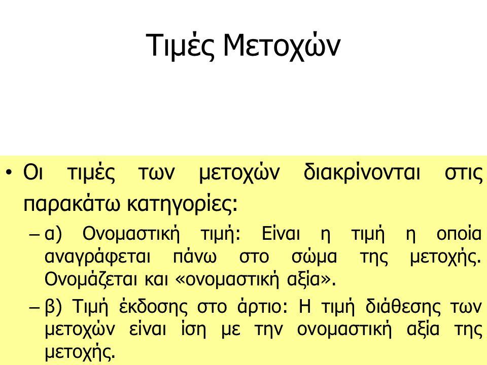 ΠΡΟΝΟΜΙΟΥΧΕΣ ΜΕΤΟΧΕΣ – Η ελληνική αγορά έχει δείξει ότι δε συμπαθεί τις προνομιούχες μετοχές, σε αντίθεση με ό,τι συμβαίνει σε άλλες αγορές – Προνομιούχες: Μετοχές των Μικροεπενδυτών