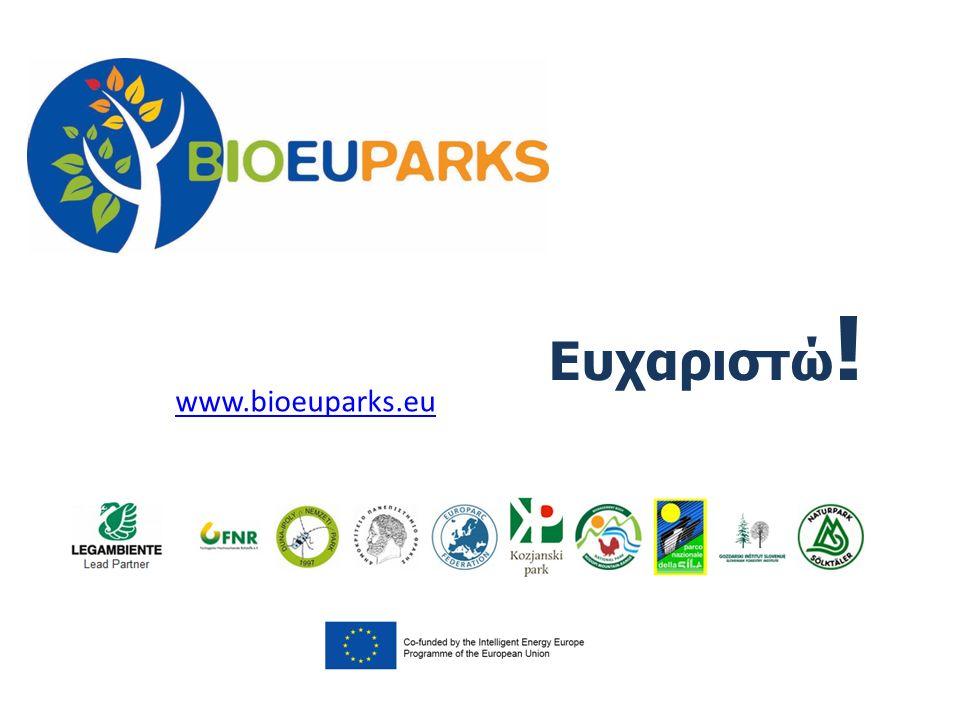 Ευχαριστώ ! www.bioeuparks.eu