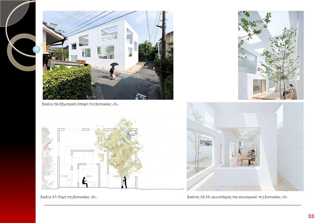 33 Εικόνα 36: Εξωτερική άποψη της Κατοικίας «Ν».