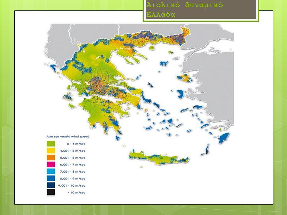 Αιολικό δυναμικό Ελλάδα