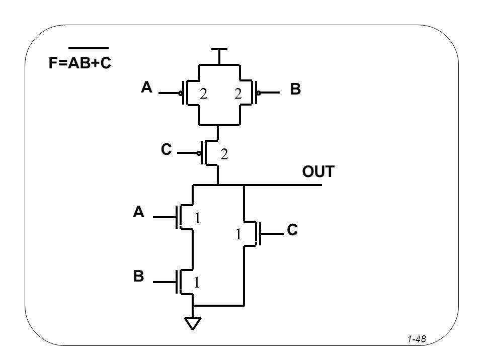 1-47 F=AB+C