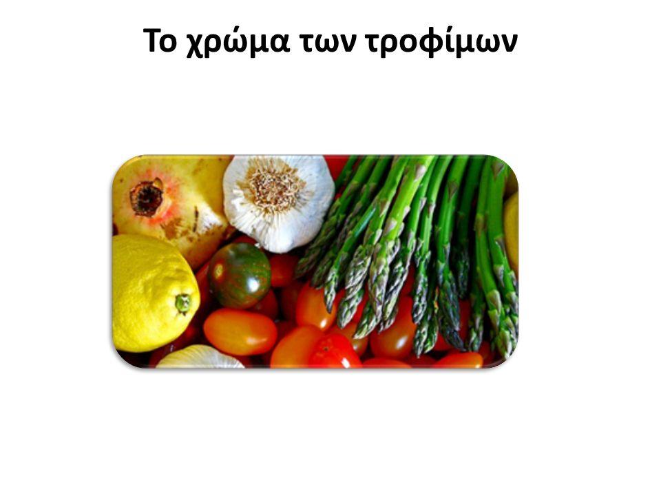 Το χρώμα των τροφίμων