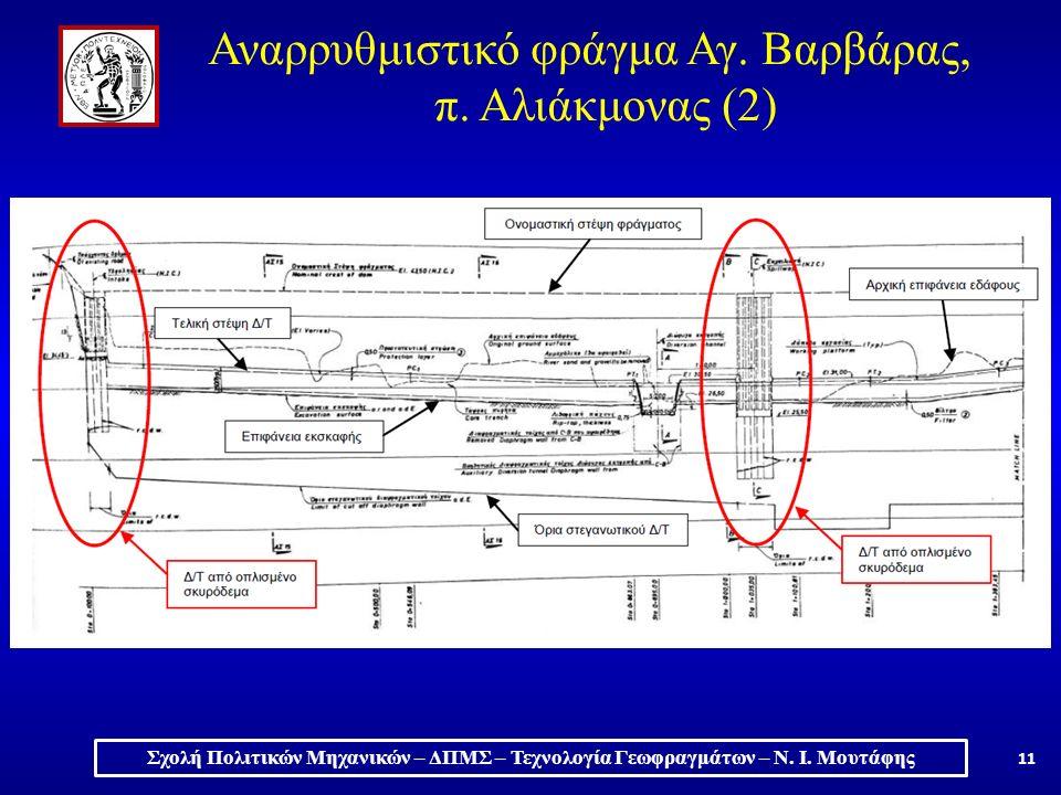 11 Αναρρυθμιστικό φράγμα Αγ. Βαρβάρας, π.