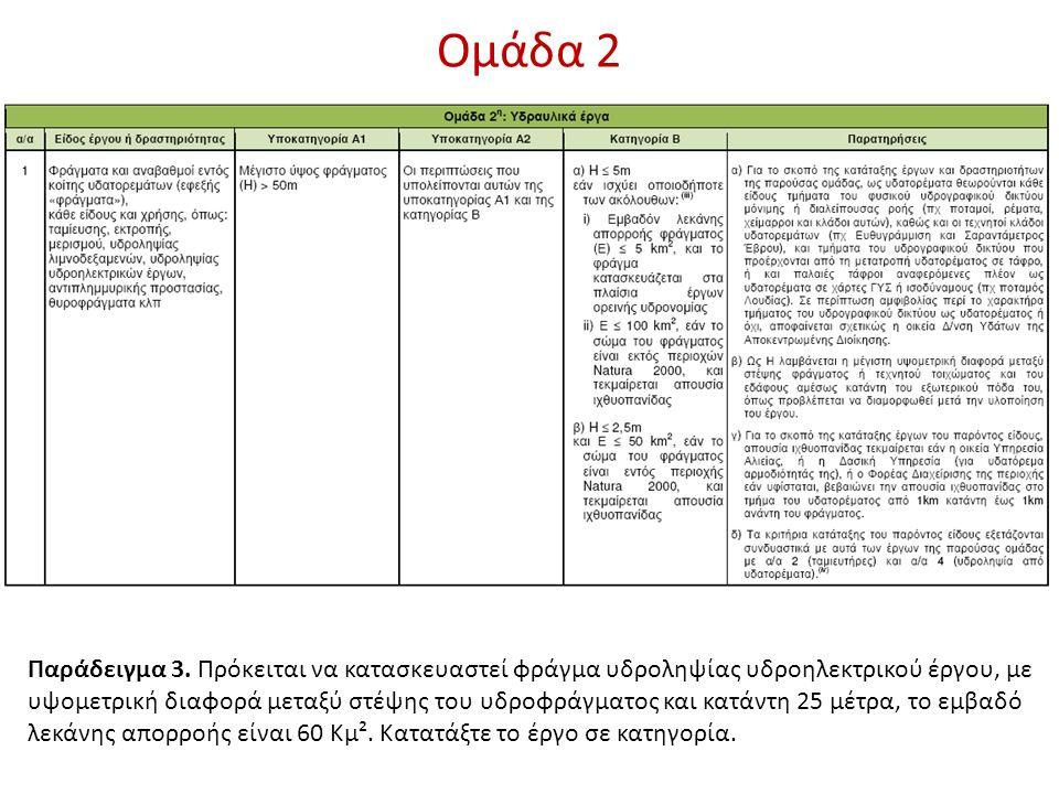 Ομάδα 2 Παράδειγμα 3.