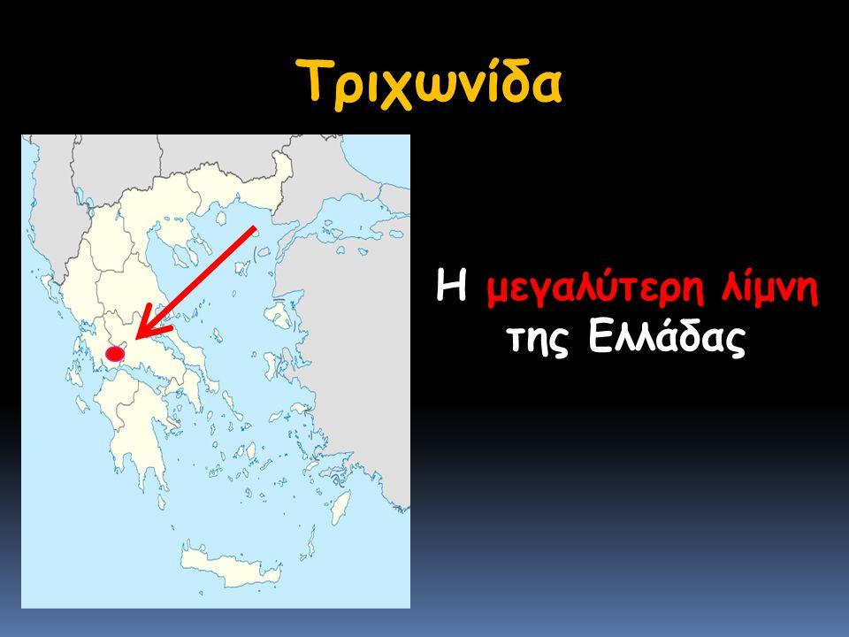 Τριχωνίδα Η μεγαλύτερη λίμνη της Ελλάδας