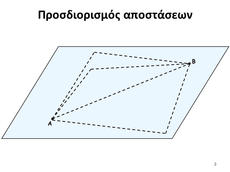 Προσδιορισμός αποστάσεων 3 Α Β