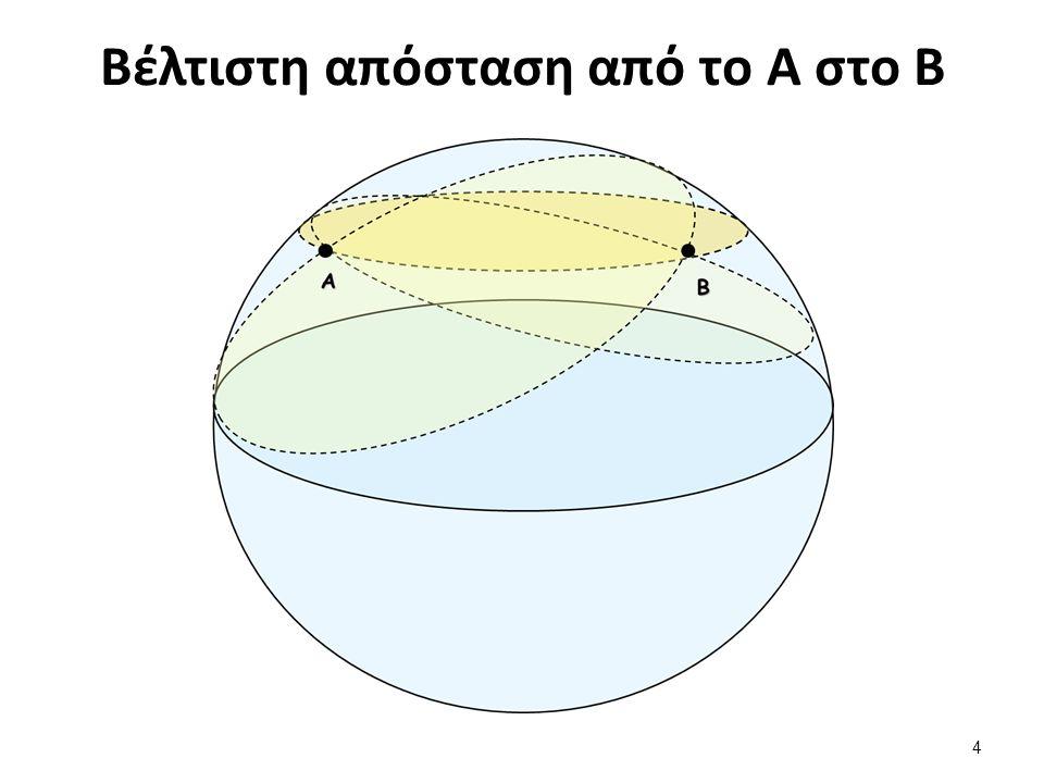 Βέλτιστη απόσταση από το Α στο Β 4