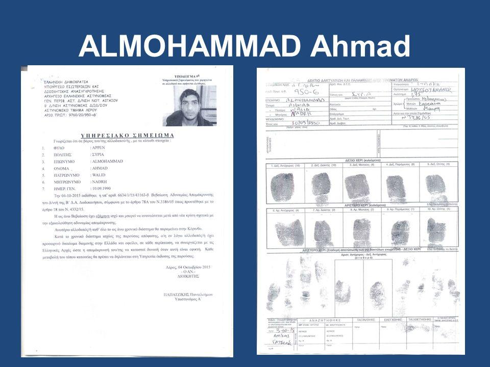 ALMOHAMMAD Ahmad