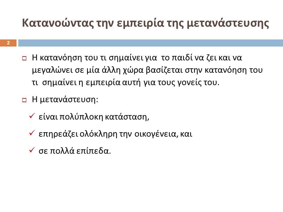  4 έτη στην Ελλάδα.Ο πατέρας του εργάζεται στην Αλβανία.
