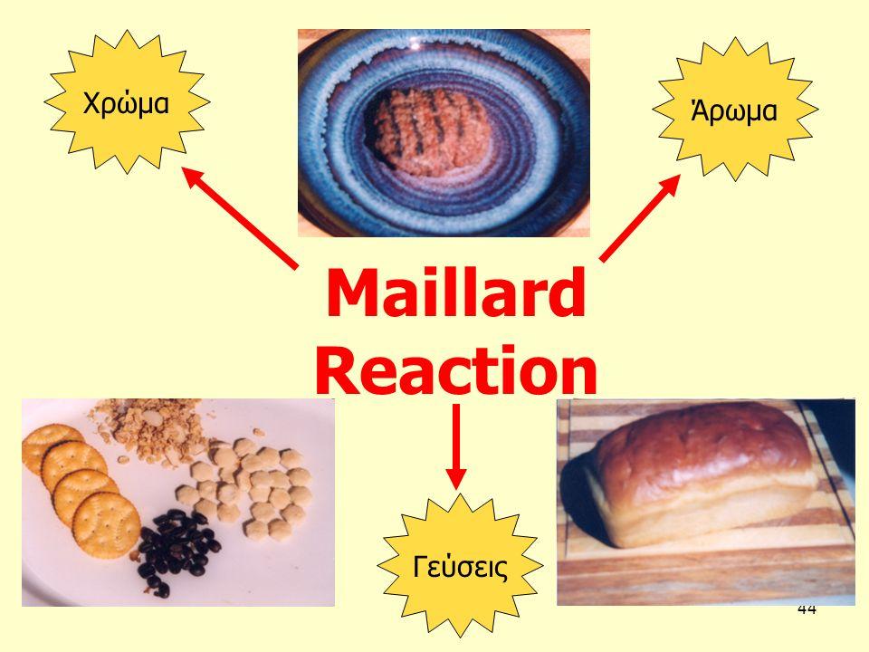 44 Maillard Reaction Άρωμα Χρώμα Γεύσεις