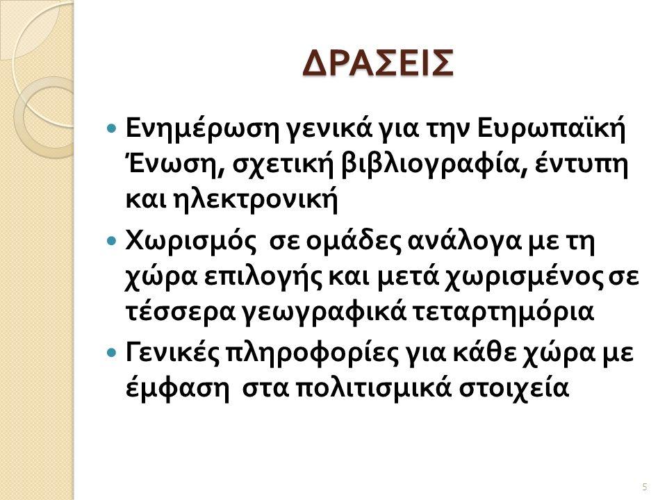 Γ΄ ΟΜΑΔΑ 16