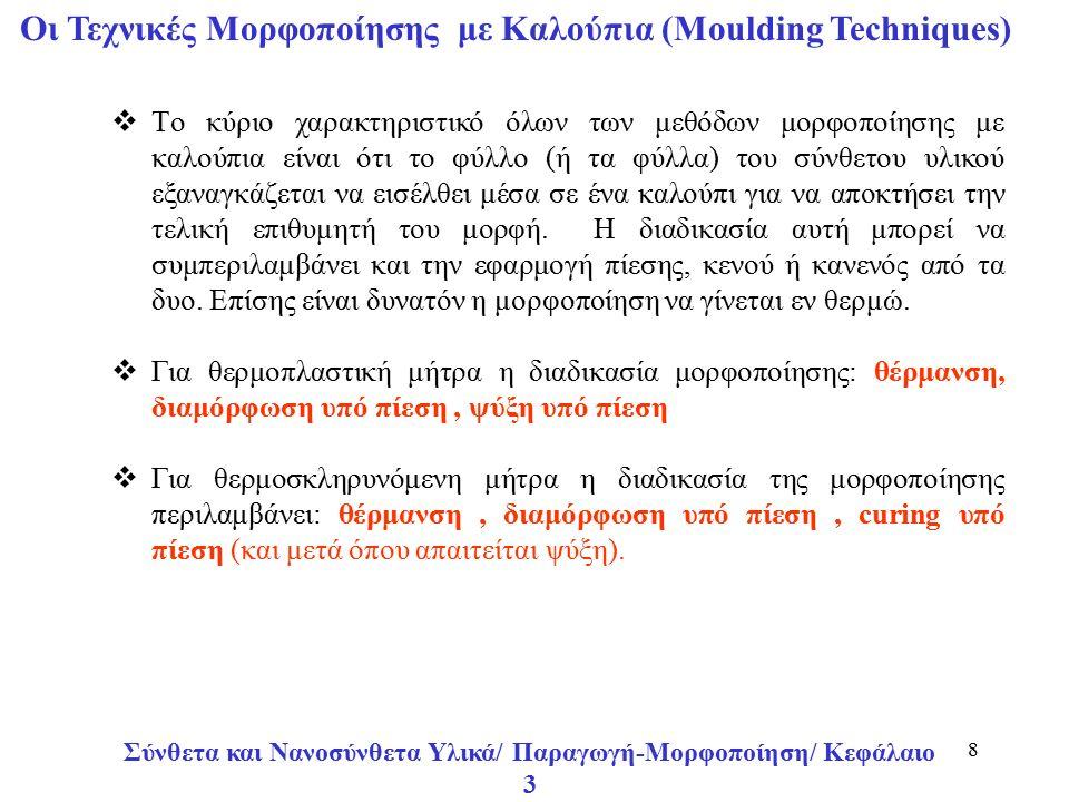 Σύνθετα και Νανοσύνθετα Υλικά/ Παραγωγή-Μορφοποίηση/ Κεφάλαιο 3 29 Αυτόκλειστος Φούρνος σε Τομή