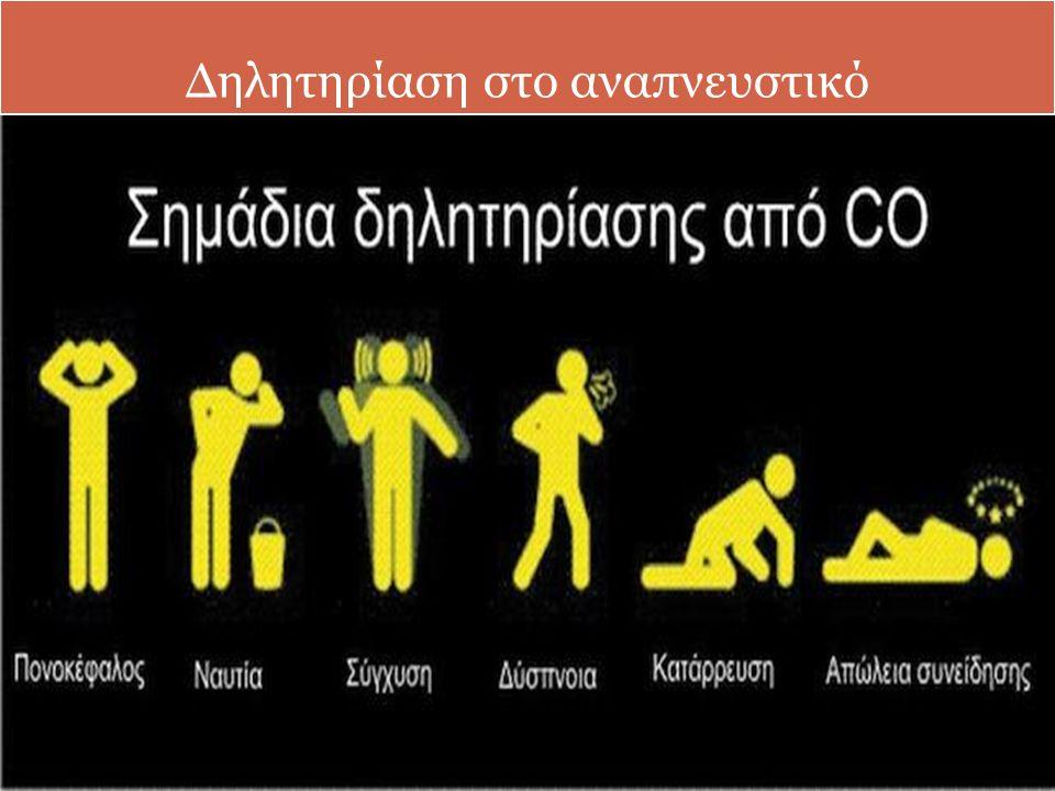 Δηλητηρίαση στο αναπνευστικό
