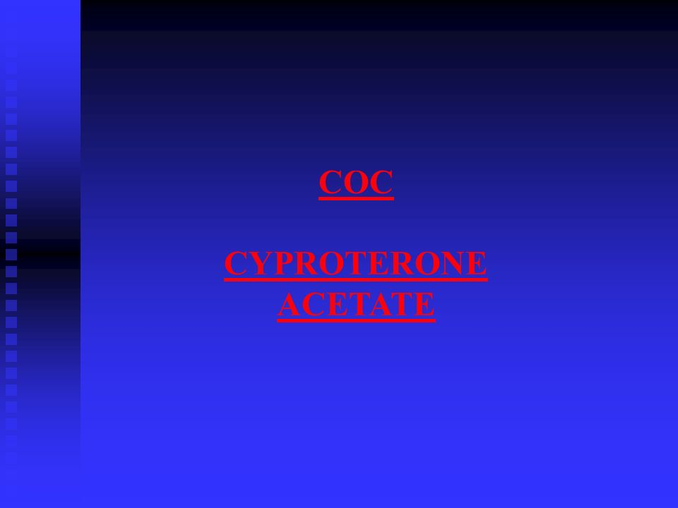 COC CYPROTERONE ACETATE