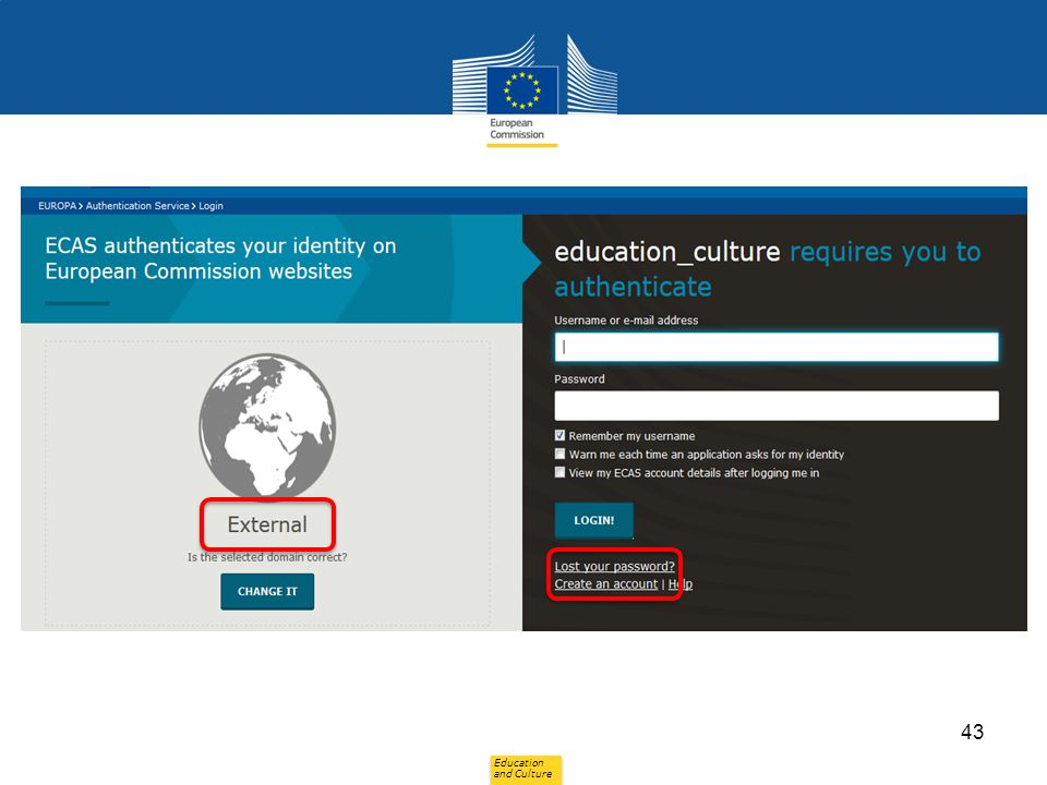 Education and Culture 43