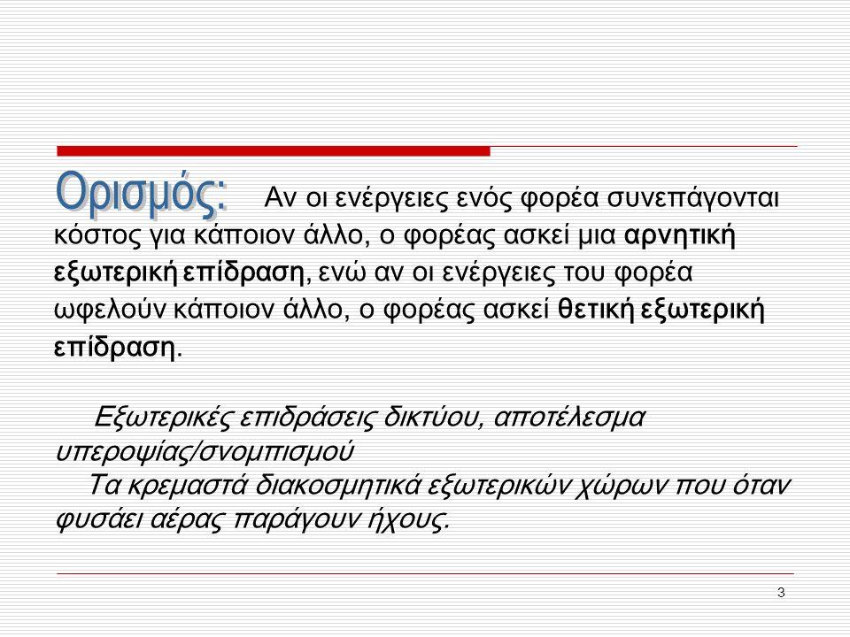 2 4. Δημόσια αγαθά Μια ταξινόμηση Ζήτηση δημόσιων αγαθών «Δωρεάν επιβάτες» (ή τσαμπατζήδες) και η προσφορά δημόσιων αγαθών 1. Παρακίνηση 2. Αναποτελεσ