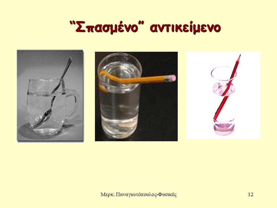 Μερκ. Παναγιωτόπουλος-Φυσικός12 Σπασμένο αντικείμενο