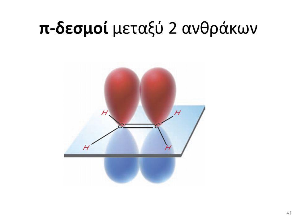 π-δεσμοί μεταξύ 2 ανθράκων 41