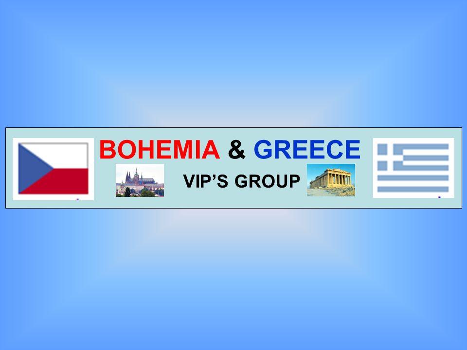 BOHEMIA & GREECE VIP'S GROUP
