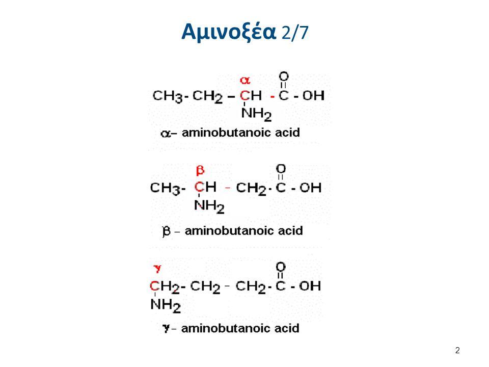 Αμινοξέα 3/7 3  Δομικά συστατικά των πρωτεϊνών  Σύνδεση με διαφορετικές αλληλουχίες  πληθώρα πρωτεϊνών.