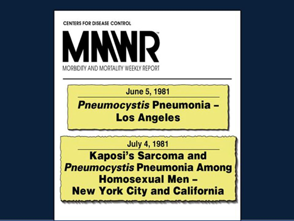 Στάδια της HIV Λοίμωξης κατά CDC CD4+ T/μlΑσυμτωματικοί Πρωτολοίμωξη ΠΓΛ Συμπτωματικοί (όχι Α ή C) Κατάσταση που προσδιορίζει AIDS >500Α1Β1C1 200-499Α2Β2C2 <200Α3Β3C3 Προοδευτική Γενικευμένη Λεμφαδενοπάθεια