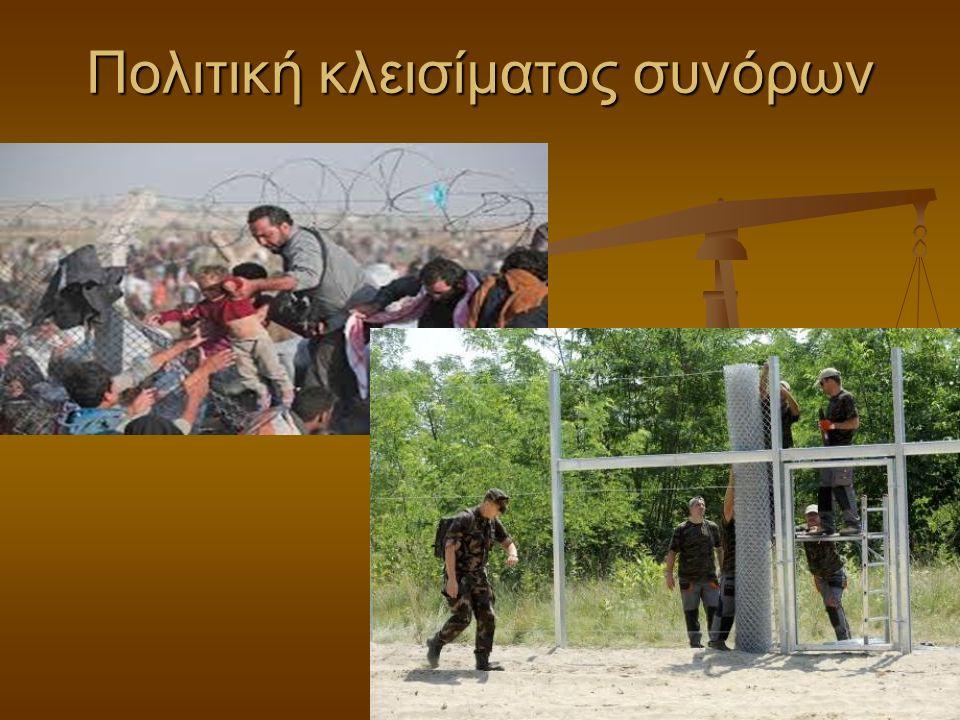 Πολιτική κλεισίματος συνόρων