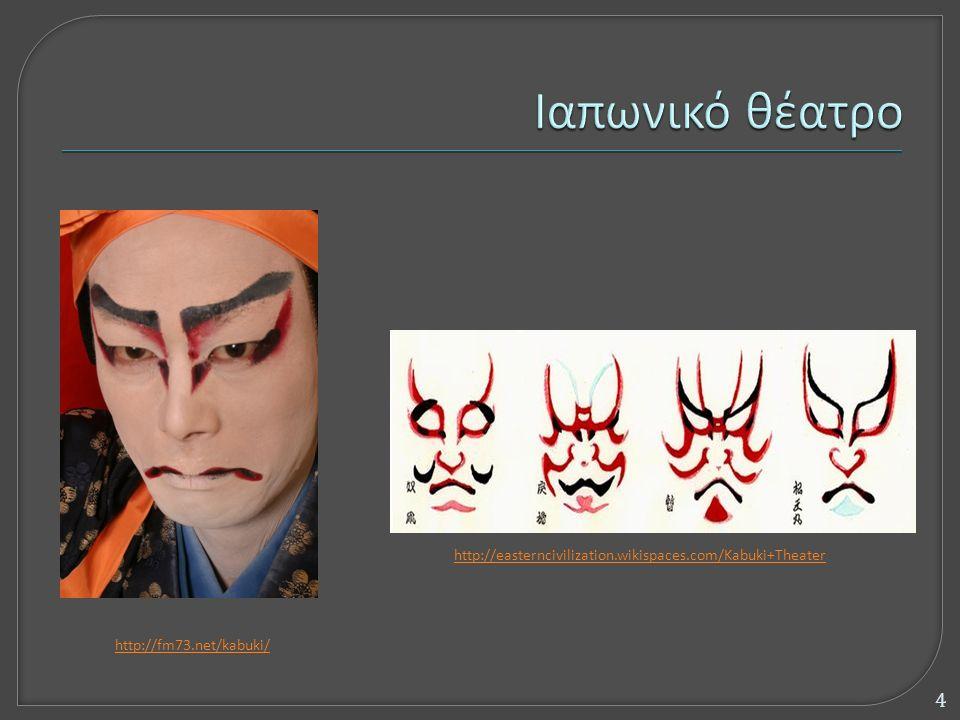 http://easterncivilization.wikispaces.com/Kabuki+Theater http://fm73.net/kabuki/ 4