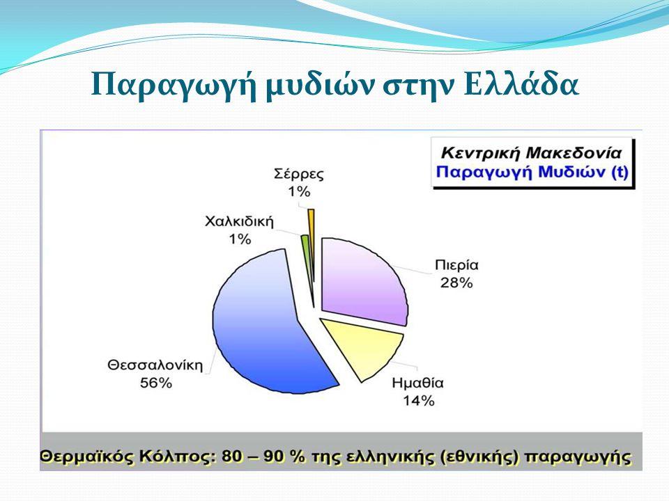 Παραγωγή μυδιών στην Ελλάδα