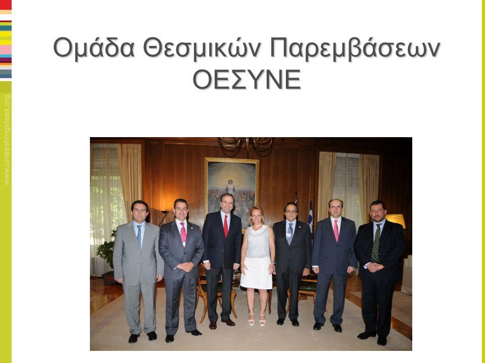 Ομάδα Θεσμικών Παρεμβάσεων ΟΕΣΥΝΕ