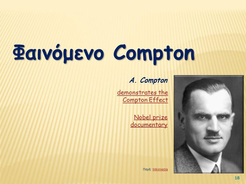 18 Φαινόμενο Compton Α.