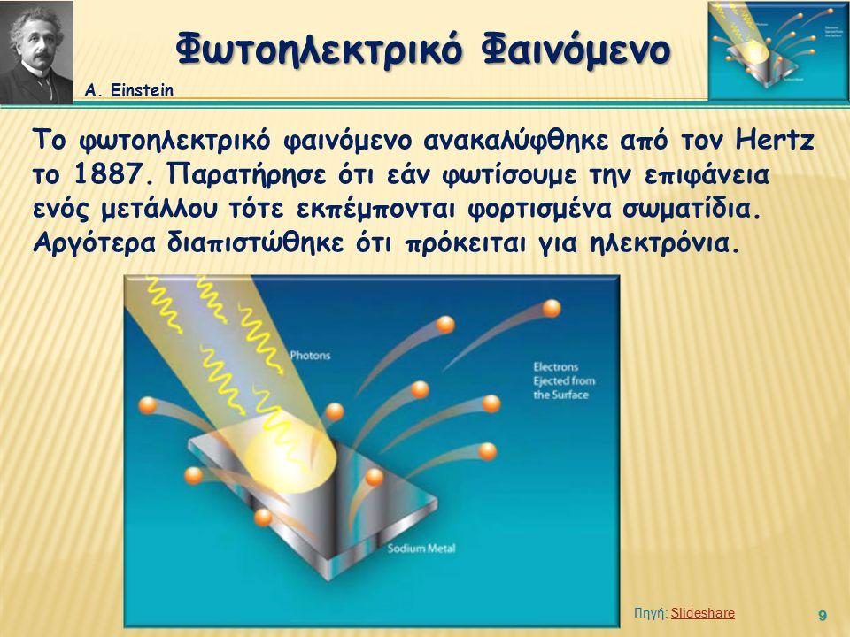 10 Η πειραματική διάταξη που χρησιμοποιείται αποτελείται από έναν αερόκενο γυάλινο σωλήνα (P<10 -7 Torr) όπου τοποθετούνται δύο ηλεκτρόδια.