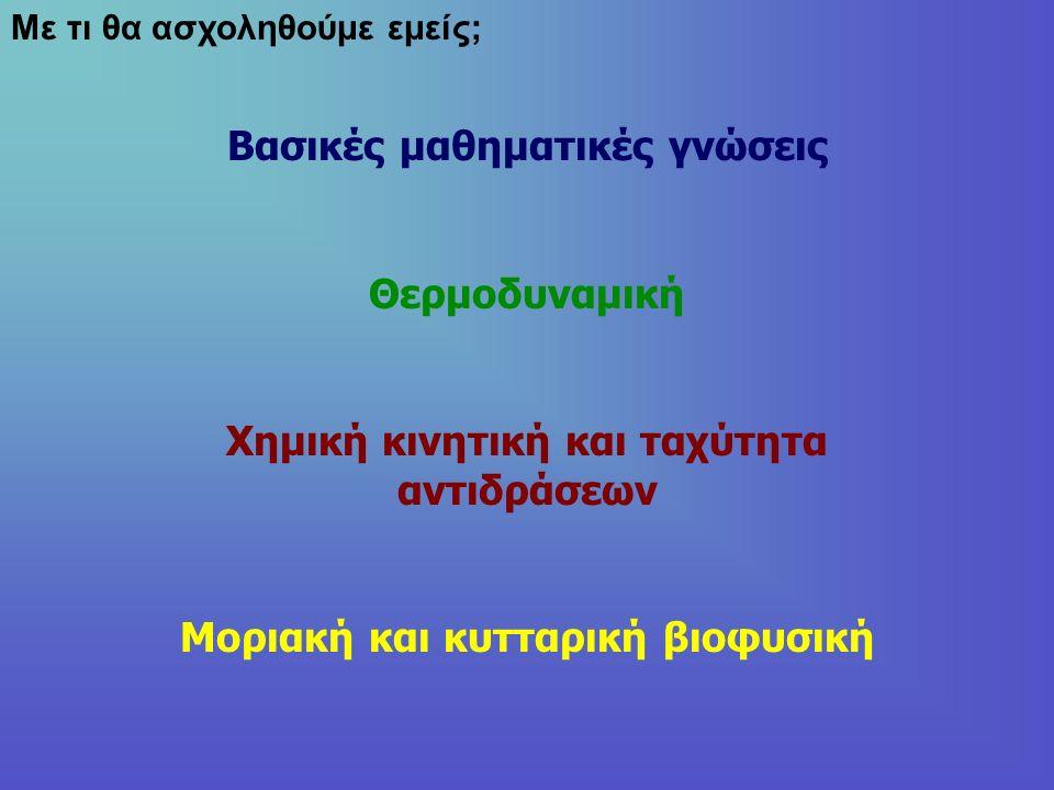 Μερικά μαθηματικά Επανάληψη στις βασικές έννοιες Πρωτοβάθμιες και δευτεροβάθμιες εξισώσεις Γραφικές παραστάσεις Ταυτότητες Τριγωνομετρία Λογάριθμοι και ιδιότητες Παράγωγοι Ολοκληρώματα