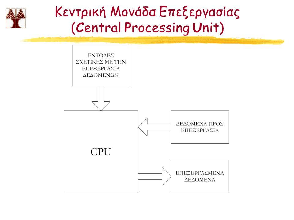 Κεντρική Μονάδα Επεξεργασίας (Central Processing Unit)