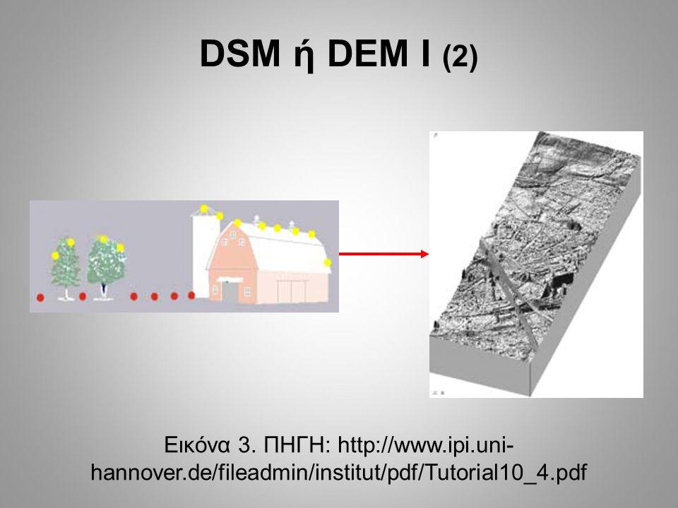 DSM ή DEM ΙΙ (1) Εικόνα 4.