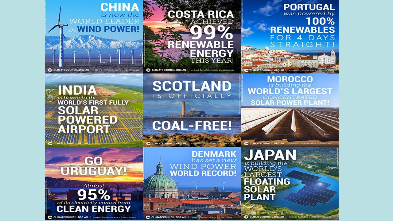 Ηλιακή επανάσταση: συμβαίνει τώρα