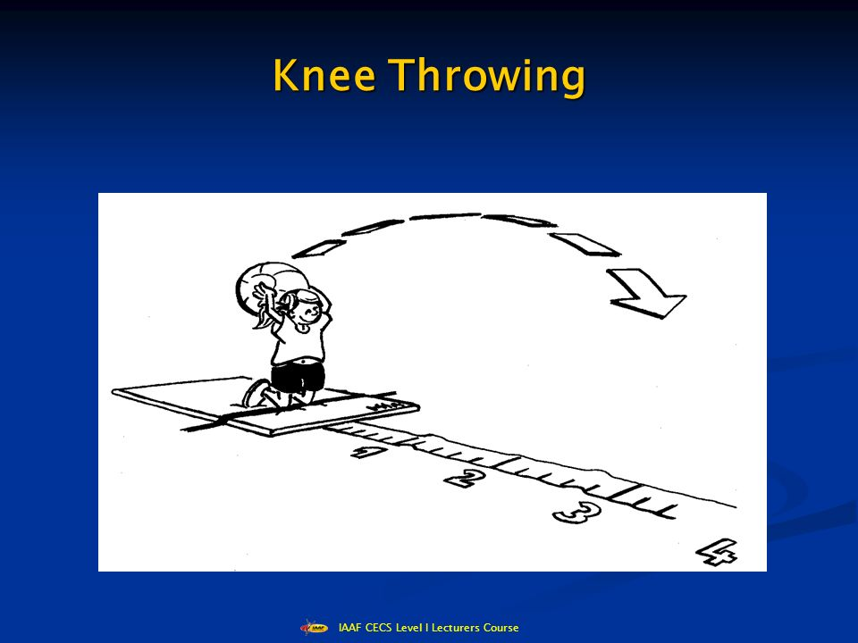 IAAF CECS Level I Lecturers Course Knee Throwing