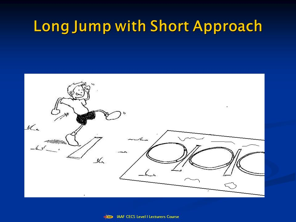 IAAF CECS Level I Lecturers Course Long Jump with Short Approach