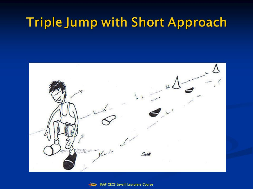IAAF CECS Level I Lecturers Course Triple Jump with Short Approach