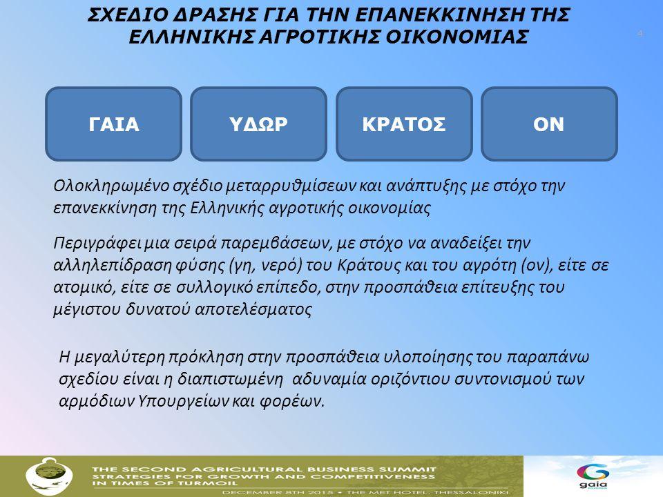 5 78 Αγροτικοί Συνεταιρισμοί από όλη την Ελλάδα