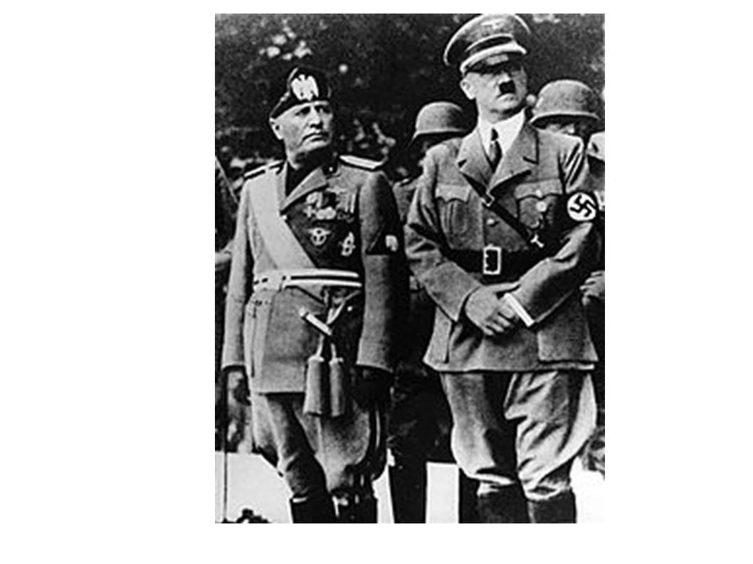 Το τέλος ενός δικτάτορα Μετά τις στρατιωτικές αποτυχίες σε Ελλάδα, Γιουγκοσλαβία και Σοβιετική Ένωση, η δημοφιλία του Μουσολίνι άρχισε να καταβαραθρώνεται ακόμα και εντός του κόμματός του.