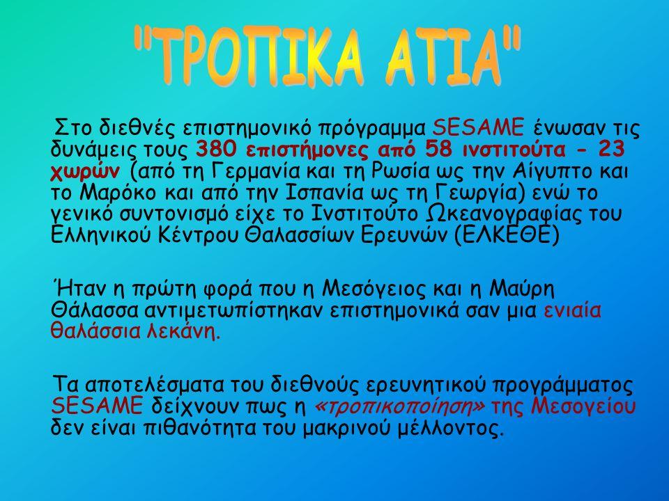 Σταδιακά οι ελληνικές θάλασσες μεταμορφώνονται σε...
