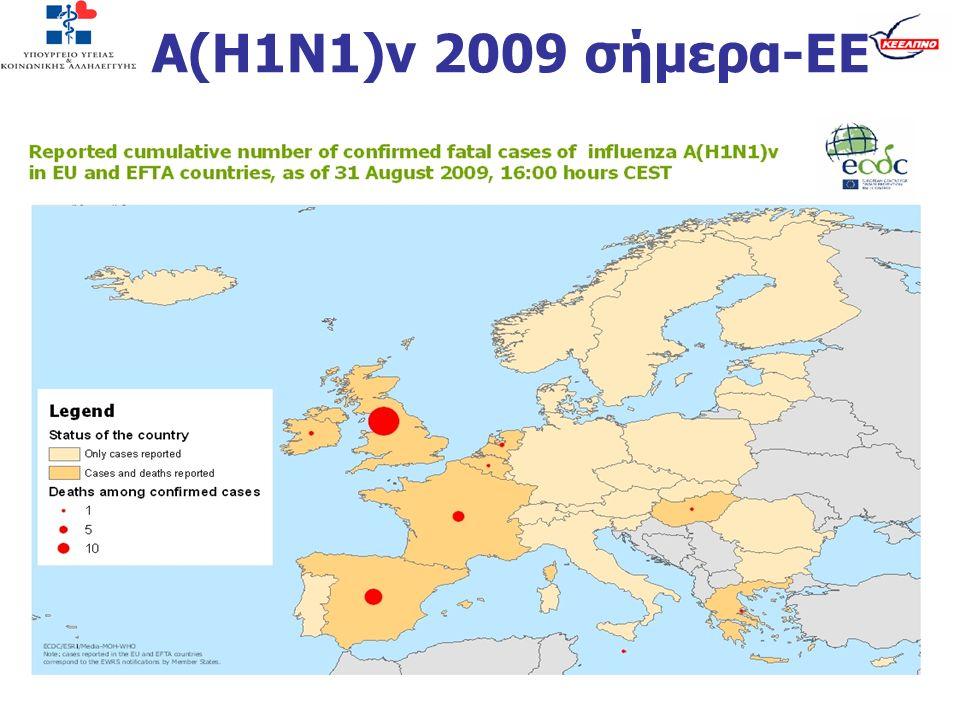 Α(Η1Ν1)v 2009 σήμερα-ΕΕ
