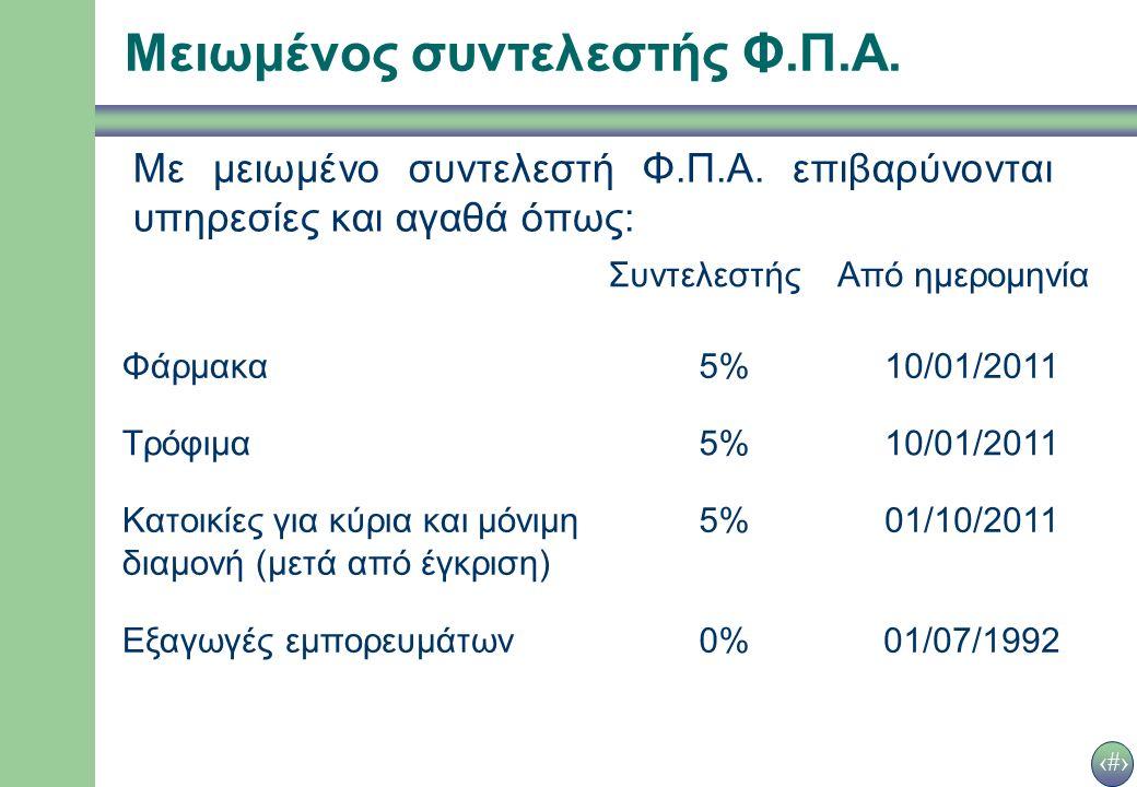 16 Συμπλήρωση φορολογικής δήλωσης Τετράγωνο 1 Φ.Π.Α.