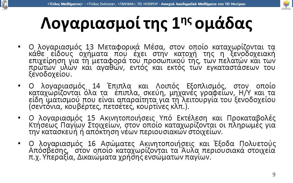3030 -,, ΤΕΙ ΗΠΕΙΡΟΥ - Ανοιχτά Ακαδημαϊκά Μαθήματα στο ΤΕΙ Ηπείρου Τέλος Ενότητας Επεξεργασία: Βαφειάδης Νικόλαος Πρέβεζα, 2015