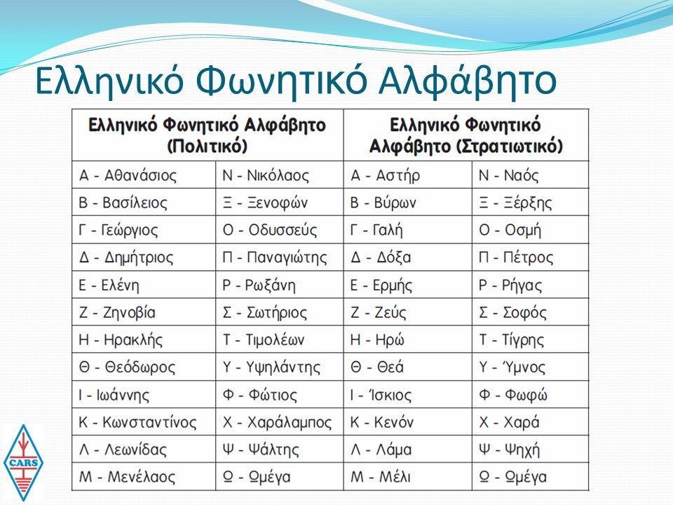 Ελληνικό Φων ητικό Αλφάβ ητο